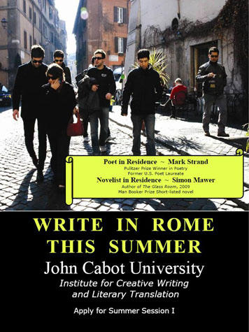 creative writing workshop summer