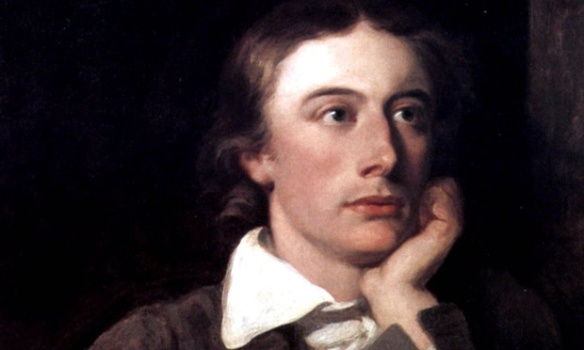 John Keats. Image from The Guardian. Click image for contest details